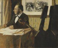Виолончелист Пилет (1868-1869) (50 х 61) (Париж, музей Орсэ)
