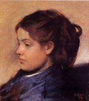 Портрет Эммы Добиньи (1869) (31 х 29) (Гамбург, Кунстхалле)