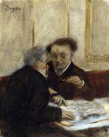 В кафе Chateaudun (1869-1871) (Лондон, Нац. галерея))