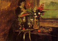 Портрет мадмуазель Рене де Га (1872-1873) (Новый Орлеан, Музей имскусства)