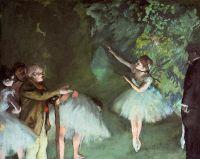 Репетиция балета (1875) (55 х 76) (частная коллекция)