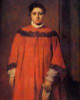 Девушка в красном (1873-1876) (98.9 х 80.8) (Вашингтон, Нац. галерея)