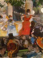 В кафешантане 'Les Ambassadeurs' (1877) (37 х 27) (Лион, Музей изящ.искусств)