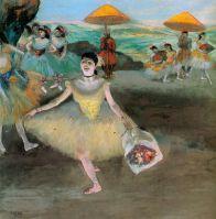 Танцовщица с букетом от поклонников (1877) (Париж, музей Орсэ)