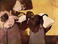 Прачки, несущие бельё (1876-1878) (частная коллекция)