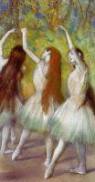 Танцовщицы в зелёном (ок.1878) (частная коллекция)
