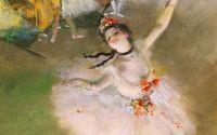Звезда (ок.1878) (58 х 42) (Париж, Музей Орсэ)деталь