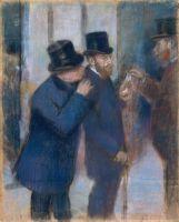 На фондовой бирже (1878-1879) (72.1 х 58.1) (Нью-Йорк, Метрополитен)