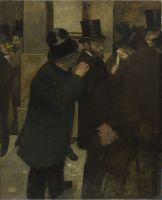 На фондовой бирже (1878-1879) (100 х 82) (Париж, Музей Орсэ)