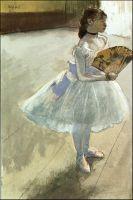 Танцовщица с веером (ок.1879) (частная коллекция)