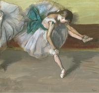Отдыхающая танцовщица (1879) (частная коллекция)