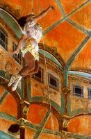 Мадмуазель Ла-Ла в цирке Фернандо (1879) (117 х 117) (Лондон, Нац. галерея)
