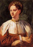 Портрет молодой женщины (1858-1859) (Оттава, Нац. галерея Канады)