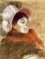 Мадам Мейнц-Мони (1879) (60 х 45.1) (Вашингтон, Нац. галерея)
