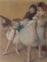 Перед репетицией (1880) (62.2 х 45.7) (Денвер, Музей искусства)