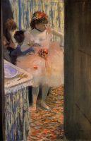 Танцовщица в артистической уборной (1880)