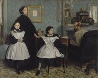 Семейство Беллелли (1858-1859) (200 х 250) (Париж, музей Орсэ)