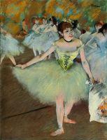 На сцене (ок.1879-1881) (частная коллекция)