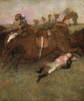 Упавший жокей (1880-1881) (180 х 152) (Вашингтон, Нац. галерея)