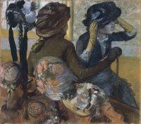В шляпном магазине (1882) (75.5 х 85.5) (Мадрид, Музей Тиссена-Борнемисы).