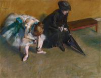 Ожидание  (ок.1882) (48 х 61) (Лос-Анжелес, музей Пола Гетти)