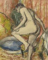 После купания (1883) (частная коллекция)