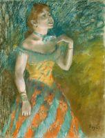 Певица в зелёном (ок.1884) (60.3 х 46.4) (Нью-Йорк, Метрополитен)