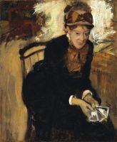 Портрет Мери Кассат (ок.1880-1884) (73.3 х 60) (Вашингтон, Национальная портретная галерея)