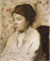 Портрет молодой женщины (ок.1885) (27.3 х 22.2) (Нью-Йорк, Метрополитен)