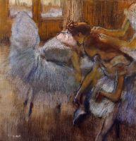 Танцовщицы на отдыхе (ок.1885) (частная коллекция)