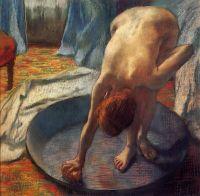 Женщина в тазу (1886) (70 х 70) (Коннектикут, Фамингтон, музей Хиллстеда)