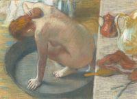 Женщина, моющая спину в тазу (1886) (Париж, музей Орсэ)