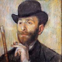 Портрет мужчины (1886) (частная коллекция)
