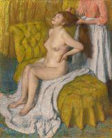 Расчёсывание волос (1886-1888) (74 х 60.6) (Нью-Йорк, Метрополитен)
