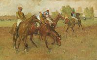 До гонки (1882-1888) (частная коллекция)