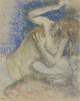Женщина за туалетом (1892) (частная коллекция)