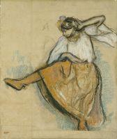 Русская танцовщица (1895) (66.5 х 56.2) (Хьюстон, Музей искусства)