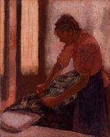 Гладильщица (1892-1895) (80 х 63.5) (Ливерпуль, Галерея Уолкера)