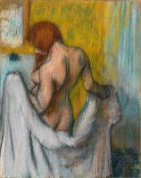Женщина с полотенцем (1894 или 1898) (112.4 х 92.1) (Нью-Йорк, Метрополитен)