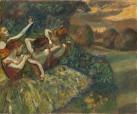 Четыре танцовщицы (ок.1899) (151 х 180) (Вашингтон, Нац. галерея)