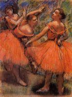Танцовщицы в красном (1897-1901 (Глазго, Галерея и музей искусства)