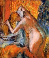 Женщина, вытирающая волосы (ок.1903) (частная коллекция)