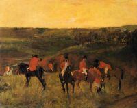 Начало охоты (1863-1865) (частная коллекция)