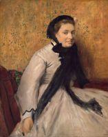 Портрет дамы в сером (1865) (91.4 х 72.4) (Нью-Йорк, Метрополитен)
