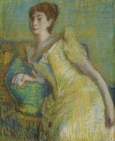 Женщина в жёлтом (не датировано) (частная коллекция)