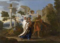 Бегство в Египет (1657) (97 х 133) (Лион, Музей изящ.искусств)