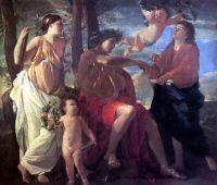 Вдохновение эпического поэта (1630) (183 х 213) (Париж, Лувр)