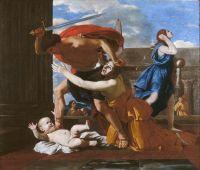 Избиение младенцев в Вифлееме (ок.1628) (118 х 179) (Шантийи, музей Конде)