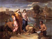Нахождение Моисея (1638) (Париж, Лувр)