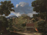 Пейзаж с руинами (ок.1634) (72 x 98) (Мадрид, Прадо)